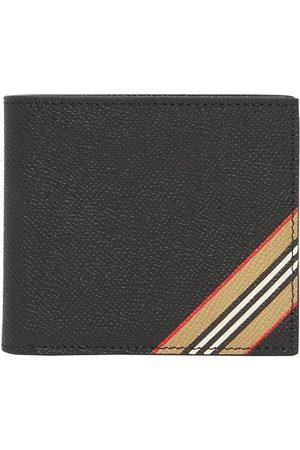 Burberry Herren Geldbörsen & Etuis - Icon stripe bi-fold wallet
