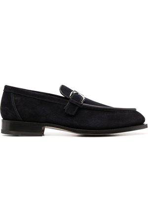 santoni Side-buckle loafers