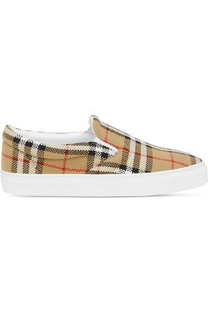 Burberry Vintage Check slip-on sneakers