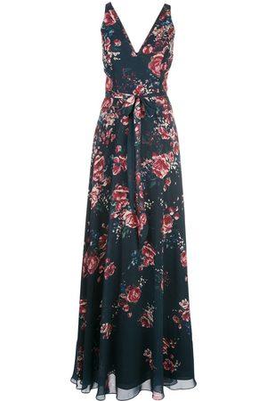 Marchesa Notte Bridesmaids floral gown
