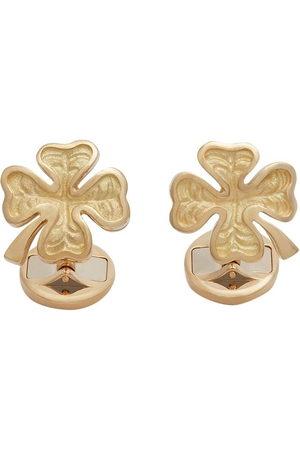 Dolce & Gabbana Herren Manschettenknöpfe - 18kt yellow ruby Good Luck cufflinks