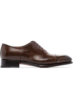santoni Classic lace-up oxford shoes