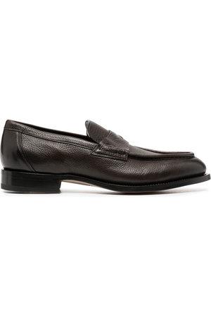 santoni Hard sole loafers