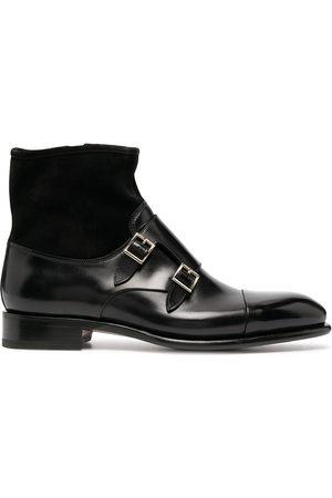 santoni Double monk strap boots