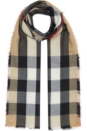 Burberry Schals - Vintage check cashmere scarf