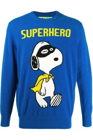 MC2 SAINT BARTH Snoopy Superhero crewneck jumper