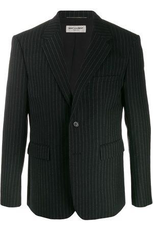 Saint Laurent Pinstriped buttoned blazer