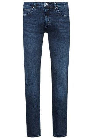 HUGO BOSS Skinny-Fit Jeans aus Stretch-Denim im Used-Look