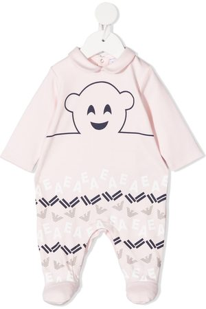 Emporio Armani Logo-print cotton pajama