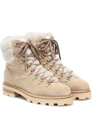 Jimmy Choo Ankle Boots Eshe mit Shearling