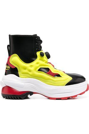 Maison Margiela X Reebok instapump style boots