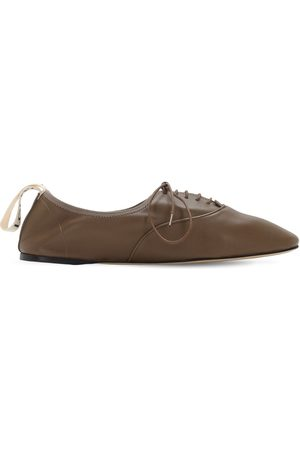 Loewe 10mm Hohe Schuhe Aus Weichem Leder
