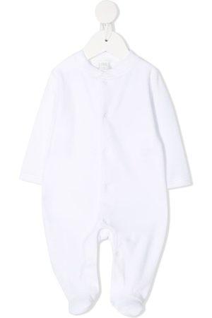 Marie-Chantal Angel Wings contrasting button pajama