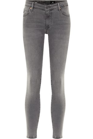 AG Jeans Mid-Rise Jeans The Legging Ankle
