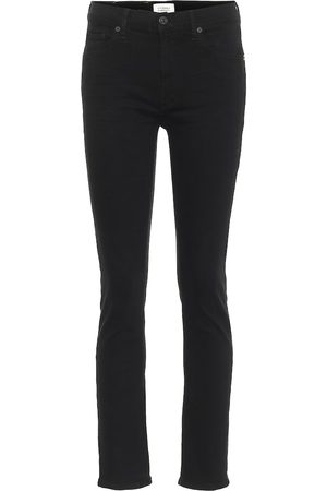 Citizens of Humanity Mid-Rise Slim Jeans Skyla
