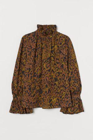 H&M Bluse mit Volants