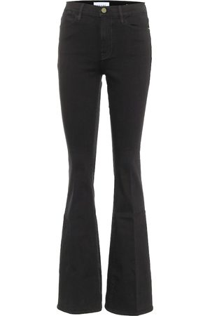 Frame High-Rise Flared Jeans Le High