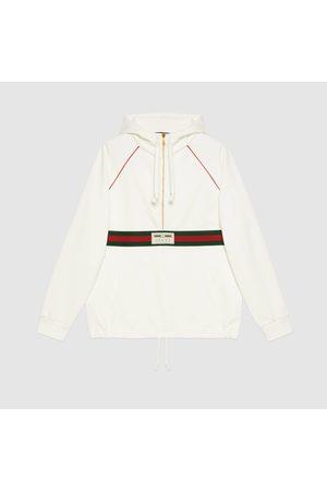 Gucci Pullover mit Web und Etikett