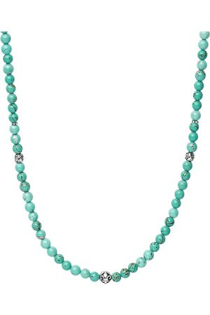 Nialaya Jewelry Turquoise beaded necklace