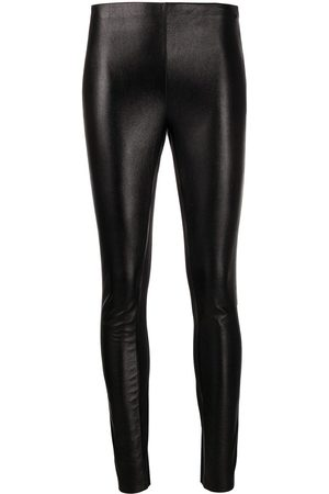 Karl Lagerfeld Metallic stretch leggings