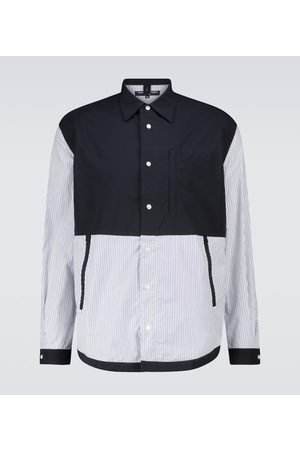Comme des Garçons Patchwork-Hemd aus Baumwolle