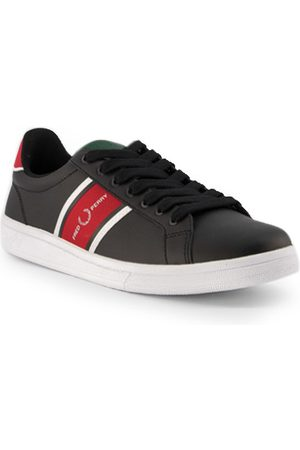 Fred Perry Schuhe B721 Leather/Webbing B8301/220