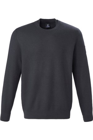Strellson Rundhals-Pullover aus 100% Schurwolle