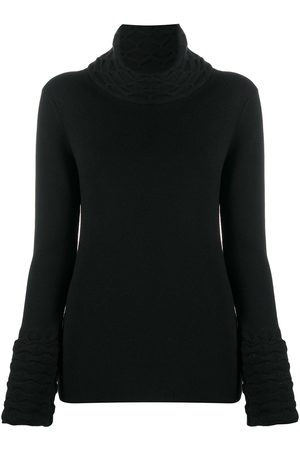 TEMPERLEY LONDON Damen Rollkragenpullover - Honeycomb knit rollneck jumper