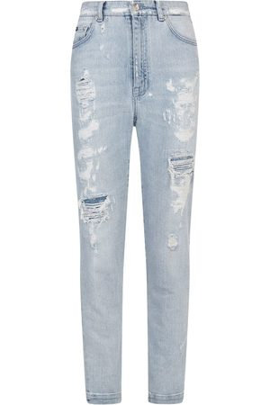 Dolce & Gabbana Audrey distressed-effect jeans