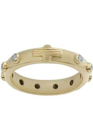 Dolce & Gabbana 18kt white gold Devotion diamond band