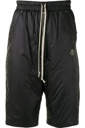 Moncler + Rick Owens Bela padded knee-length shorts