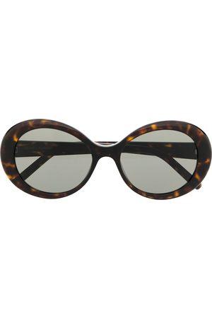 Saint Laurent Tortoiseshell effect sunglasses