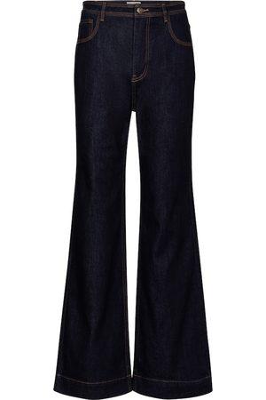 ULLA JOHNSON High-Rise Jeans Theo mit weitem Bein