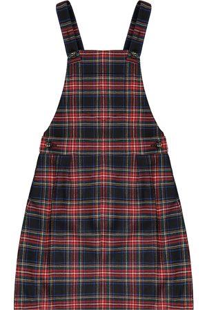 Dolce & Gabbana Kariertes Kleid aus einem Wollgemisch