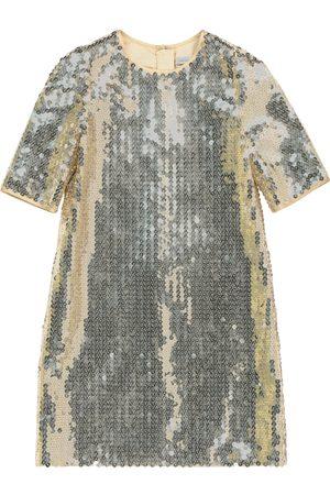 Dolce & Gabbana Verziertes Kleid mit Pailletten