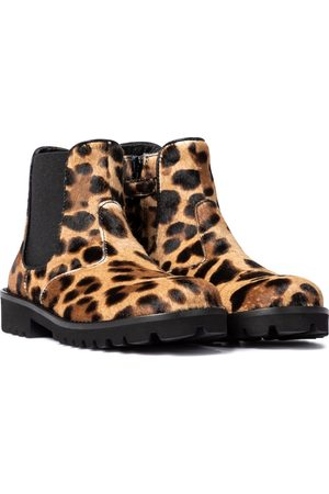 Dolce & Gabbana Ankle Boots aus Kalbshaar
