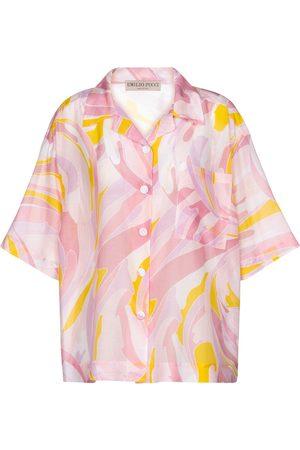 Emilio Pucci Hemd aus Baumwolle und Seide