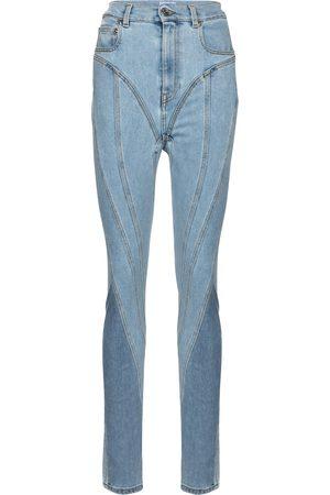 MUGLER High-Rise Skinny Jeans