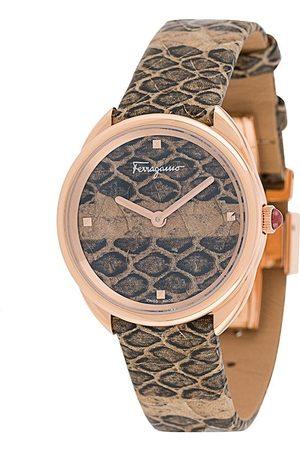 Salvatore Ferragamo Damen Uhren - Cuir 30mm watch
