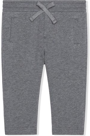 Dolce & Gabbana Kids Logo patch trousers