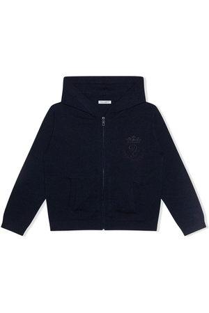 Dolce & Gabbana Kids Cashmere zipped hoodie