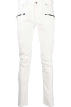 Balmain Herren Slim - Slim-fit panelled jeans