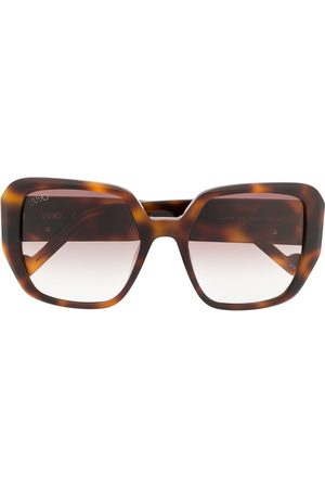 Liu Jo Oversized tortoise-shell sunglasses