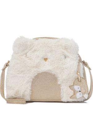 BONPOINT Tasche Igloo aus Faux Fur