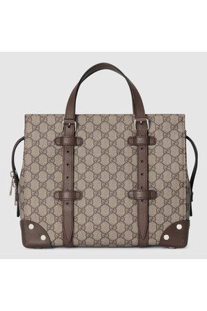 Gucci Herren Shopper - GG Shopper mit Lederdetails