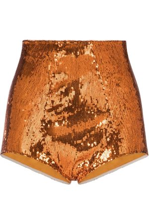 Dolce & Gabbana Damen Shorts - Sequin shorts