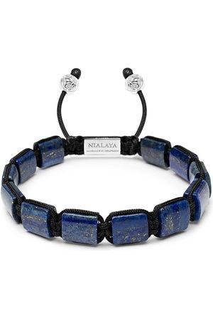 Nialaya Herren Armbänder - Gemstone-embellished beaded bracelet