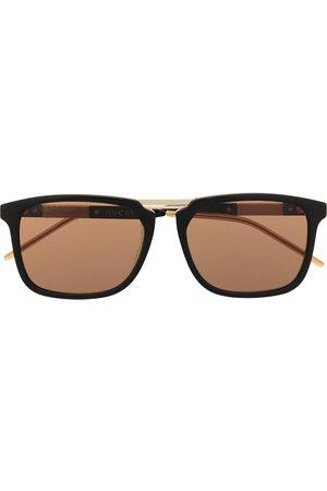 Gucci Square-frame logo glasses