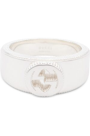Gucci Ring Interlocking-G aus Sterlingsilber