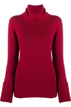 TEMPERLEY LONDON Honeycomb turtleneck jumper